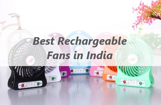 Top 10 Best Rechargeable Table Fan in India 2019