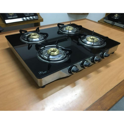 Best 4 Burner Gas Stove 2020 With Glass Top